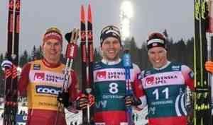 Александр Большунов стал вторым в гонке преследования на этапе многодневки «Ски Тур»