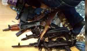 ВКотласе вынесли приговор двоим мужчинам, которые занимались незаконным хранением иизготовлением оружия