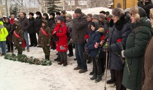 ВАрхангельской области, как иповсей России, вспоминают солдат иофицеров, погибших вАфганской войне