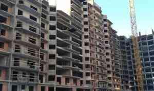 В Архангельске погиб рабочий, упав с 12-го этажа строящегося дома