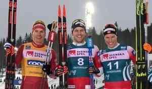 Александр Большунов взял серебро навтором этапе многодневки «Ски Тур»