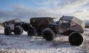 Северяне совершают мини-экспедиции на самодельных вездеходах
