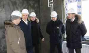 В Архангельске до конца года будут сданы два дома для переселения граждан из аварийного жилфонда