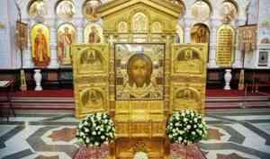 Главную икону российской армии с частицами мощей многих святых доставят в Архангельск 19 февраля