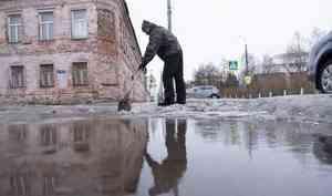 19 февраля оттепель в Архангельске продолжится, но без дождя