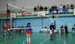В Котласе прошёл межрегиональный турнир по волейболу