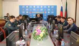 В  Главном управлении прошла деловая игра с должностными лицами администрации Табасаранского района