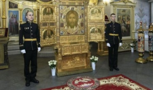 В Архангельске встретили главную икону российской армии