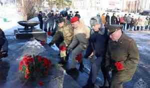 Офицер управления Росгвардии принял участие в мероприятиях, приуроченных к Дню памяти павших в годы Гражданской войны и Интервенции
