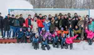 «Лыжня для новобранцев» в пятый раз приняла иностранных студентов САФУ