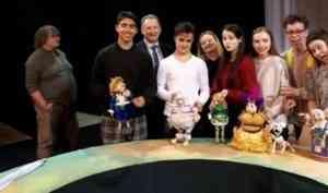 В Минске показали спектакль по сказке Бориса Шергина