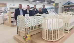 Архангельская компания по производству детской мебели представляет свою продукции в Республике Беларусь
