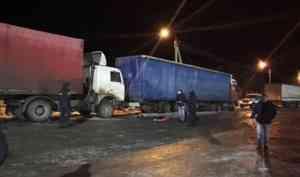 ВВиноградовском районе погиб мужчина, которого зажало между двумя автомобилями