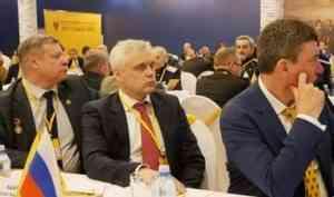 Обсудили поправки в Конституцию: Сергей Быков представил Архангельскую епархию на всероссийском собрании «Двуглавого орла»