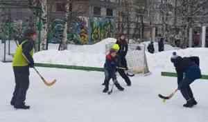 Турнир по хоккею в валенках среди воспитанников архангельских воскресных школ прошел в столице Поморья
