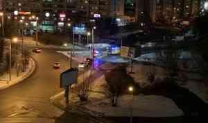 «Был резкий крик»: в центре Архангельска сбили пешехода