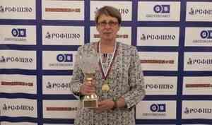 Шашистка из Коношского района Ирина Метревели стала чемпионкой России