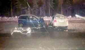 В ДТП близ Северодвинска погиб водитель иномарки