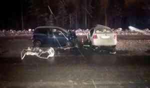 В ДТП под Северодвинском погиб водитель иномарки