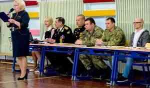 Офицеры управления Росгвардии по Архангельской области вошли в состав жюри смотра-конкурса, организованного в архангельской школе-интернате