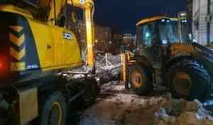 Центр Архангельска остался без воды из-за дефекта на коммунальных сетях