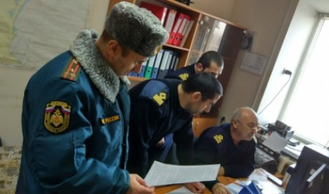 Силы и средства республиканской системы РСЧС продемонстрировали практические навыки по действиям при ликвидации чрезвычайной ситуации, обусловленной разливом нефти в акватории Каспийского моря