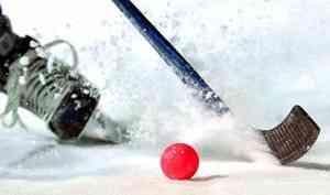Сегодня «Водник» впоследнем регулярном матче Чемпионата России похоккею смячом обыграла сыктывкарский «Строитель»