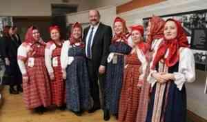 «Переполненный Россией – в поисках правды»: новая выставка к столетию Федора Абрамова открылась в Гостиных дворах