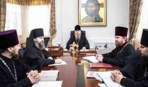 Митрополит Корнилий благословил создание церковной общины в холмогорском Койдокурье