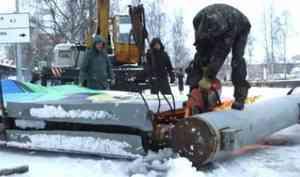 За год в Архангельске убрано свыше 200 лишних рекламных конструкций