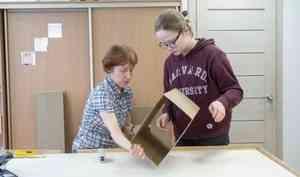 Архангельская организация «Надежда» даёт работу людям синвалидностью