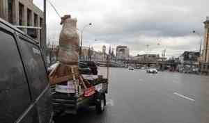 Архангелогородца, который вёз Путину деревянного медведя, задержали сотрудники ФСО