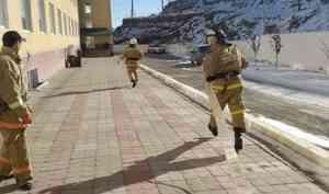 Пожарно-тактическое занятие прошло успешно
