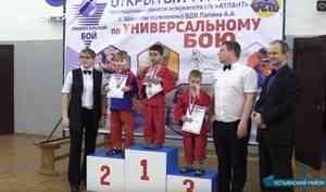 В Устьянах прошёл турнир по универсальному бою