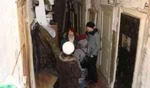 Архангелогородцев, чьи дома признаны аварийными поквартирно, переселят в новостройки