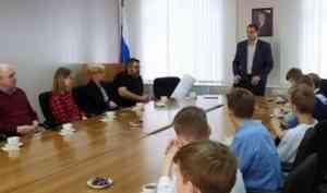 Глава города встретился с юными спортсменами