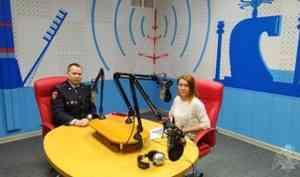 Начальник пресс-службы управления Росгвардии по Архангельской области стал гостем радиопрограммы