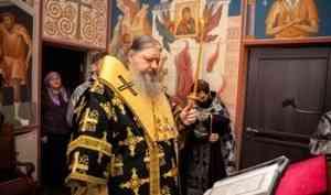 Митрополит Корнилий совершил пассию в Феодоровском храме архиерейского подворья