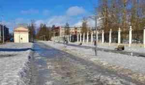 Погода не прогулочная: начало выходной недели в Архангельске будет ветреным