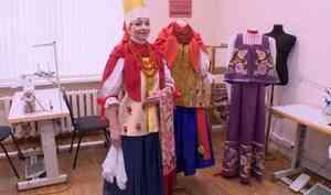 Как минимум 3 тысячи человек смогли побывать вкостюмерной Северного русского народного хора