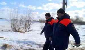 6 действующих переправ вАрхангельске иПриморском районе проверили сотрудники ГИМС