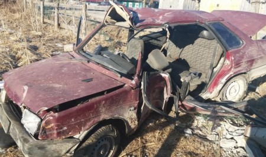 В Плесецком районе после столкновения ВАЗ с опорой ЛЭП трое человек оказались в больнице