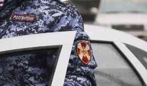 В Северодвинске Архангельской области наряд Росгвардии задержал подозреваемого в покушении на убийство