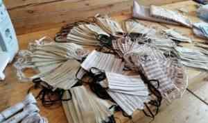 Жители Кенозерья шьют медицинские маски для соцработников и пожилых соседей