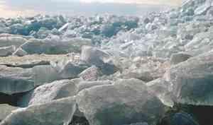 На реке Вага наблюдаются подвижки льда