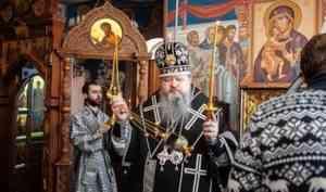 Митрополит Корнилий 5 апреля совершил пассию в Феодоровском храме архиерейского подворья