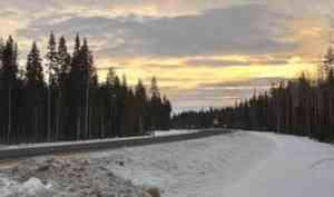 Архангельская область закрывает дорожное сообщение с Коми