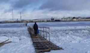 Администрация Архангельска сообщила о закрытии переправы на остров Кего
