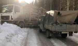 За сутки в Архангельской области в четырех ДТП четыре человека получили травмы