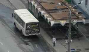 Коллапс вавтобусах Архангельска. Работать разрешили, нотранспорт необеспечили. Идёт корректировка